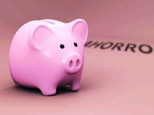 factura fiscal ahorro hucha cerdito