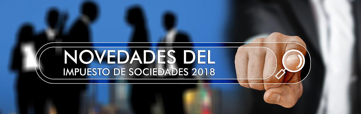 impuesto de sociedades 2018